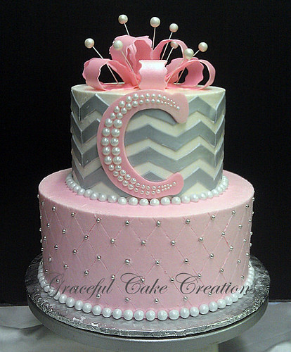 Flickriver: Photoset 'BABY SHOWER CAKES' by Graceful Cake ...