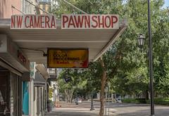 Camera and Pawn Shop (DancingTerrapin) Tags: camera city sign shop ga georgia walking store walk southern augusta pawn augustaga augustageorgia