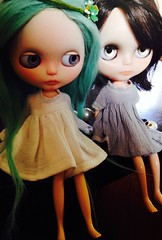 a dolly kind of day (with Absinthe & Wish)