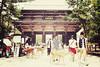 奈良市 東大寺 Nara + Tōdai-ji Temple + Nadaimon | Japan, July 2014 (Sebastien BERTRAND) Tags: japan canon streetphotography streetphoto nara japon 東大寺 photoderue greatsouthgate tōdaiji 奈良市 eos40d canon40d tōdaijitemple fotomato sebfotomato sébastienbertrand sebastienbertrand nadaimon grandeportesud templetōdaiji