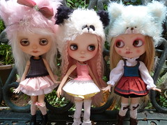 Analiese, Strawberry Muffin, and Deera Li... (jilly bean2013) Tags: sweetdays squeakymonkey chinalilly almonddoll cocomicci
