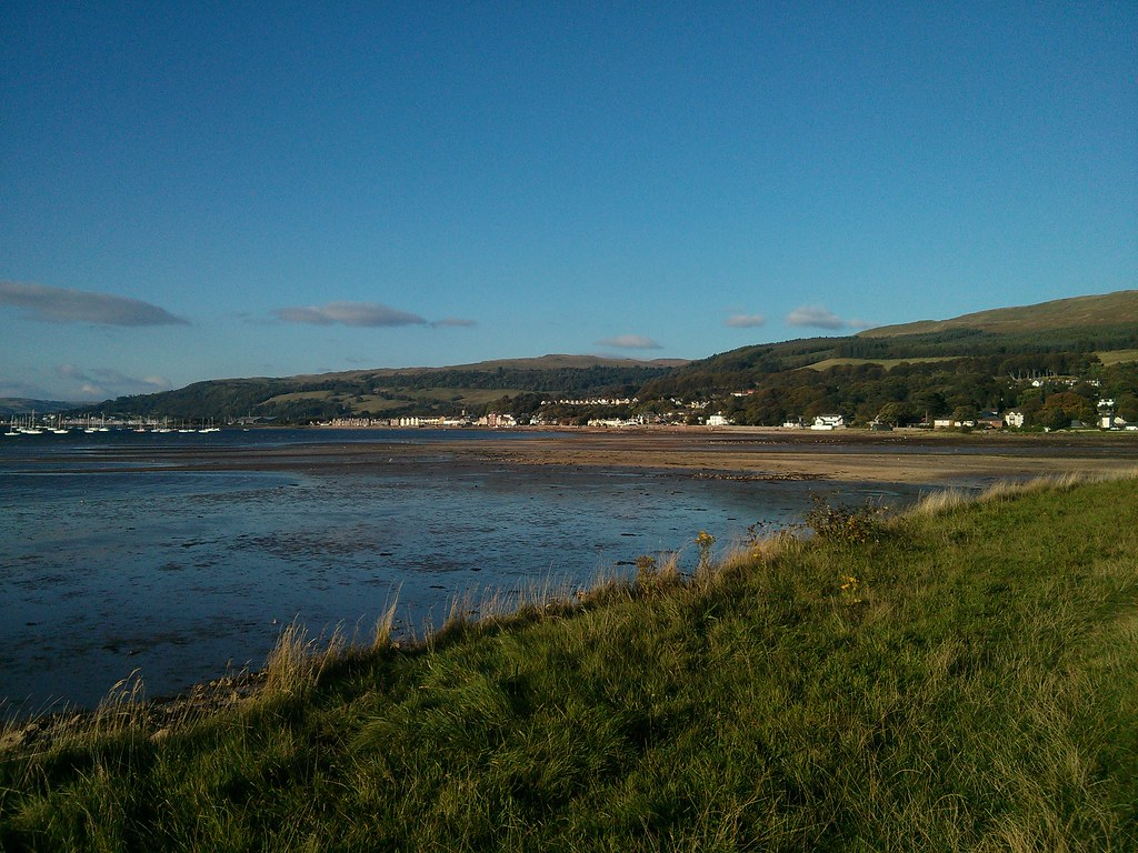 Fairlie bay from Southannan sands