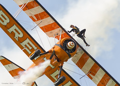 Breitling Wing Walker (jonathan_ed1984) Tags: aircraft aviation airshow 2014 breitling barnstormers sywell stearmen