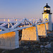 Marshall Point Lighthouse Stands Guard Along The Maine Coast