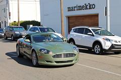 Aston Martin DB9 Volante (Hertj94 Photography) Tags: california november martin hills beverly aston volante db9 2013