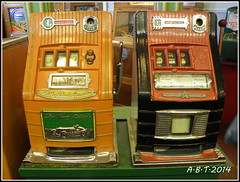 Old 1d Machines (Alan B Thompson) Tags: 2014 gamble onepenny old olympus sp590uz picassa