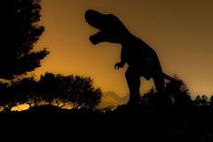 Rex (JJ Astillero) Tags: nocturna silueta dinosaurio