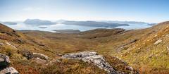 Last day of summer (TerjeLM) Tags: norway trekking norge hiking troms tiptopp fottur balsfjord rypetinden