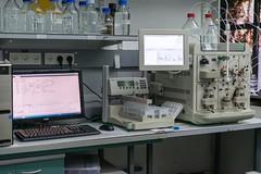 Biorad NGC (Mark A. Nakasone) Tags: haifa biorad technion ubiquitin chromatography facultyofbiology proteinpurification xraycrystallography glickmanlab bioradngc