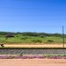 Sishen-Saldanha iron ore railway and the white sand dunes of Elands Bay