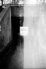 (LICHTHOF-CM) Tags: bridge white black analog canon germany deutschland photography licht exposure double landscpae landschaft weiss schwarz horizont koblenz doppelt vertikal lichthof bergheim belichtet af35 lichthoftumblrcom