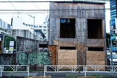 tagging (sinkdd) Tags: japan 35mm graffiti tokyo nikon f14 harajuku tagging d800 sgima nikond800 sigma35mmf14dghsm