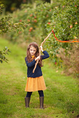 (Anna.Khatskevich) Tags: trees orange game green apple beauty smile yellow kids garden fun idea colours basket outdoor farm joy harvest plan happiness running autumncolors staff thinking cart emotions normandy tenderness appletree gumboots aroma wickerbasket kidsclothes applejam autumnlook burgundycolor huntingforapples