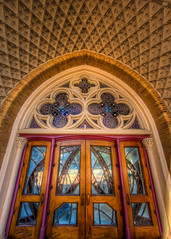 Doors to the Guadalupe (Ian Aberle) Tags: church architecture dallas doors texas arch unitedstates hdr lightroom artsdistrict 2014 gothicrevival 3xp photomatix tonemapped 2ev tthdr realistichdr cathedralsantuariodeguadalupe cathedralguadalupe detailsenhancer geo:country=unitedstates camera:make=canon exif:make=canon geo:state=texas canoneos7d geo:city=dallas camera:model=canoneos7d exif:model=canoneos7d sigma8mmf35ex exif:aperture=ƒ56 cathedralshrineofourladyofguadalupe exif:lens=8mm copyright©2014ianaberle exif:isospeed=100 exif:focallength=8mm geo:location=downtowndallas romancatholicdioceseofdallas geo:lat=32790163333333 geo:lon=96798475