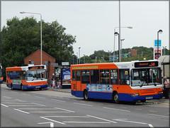 Centrebus 598 / 546 (Y978/6 TGH) (Colin H,) Tags: bus london shopping general pair leicester centre central cb dennis darts dart leys pointers 2014 ibp goahead plaxton tgh beamount centrebus ytgh 99m ipswichbuspage colinhumphrey y978tgh y978 y976
