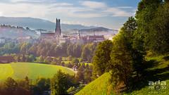 Fribourg au rveil (adaphoto.ch - Vincent Adamo) Tags: saint st schweiz switzerland suisse cathdrale nicolas pont fribourg freiburg ville visite vieille poya friborgo