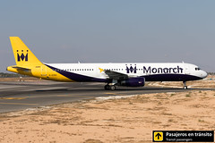 Airbus A321 Monarch G-OZBZ (Ana & Juan) Tags: airplane airplanes aircraft airport aviation aviones airbus aviación a321 monarch monarchairlines taxiing alicante alc leal spotting spotters spotter planes canon closeup