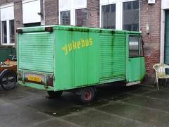 Spijkstaal Milk Van (harry_nl) Tags: netherlands nederland 2017 amersfoort spijkstaal milkman melkboer van jukebus