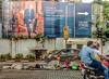 1409126336223 (PaulNeedham) Tags: trump realdonaldtrump trumptowers homelessness mumbai homeless poverty wealth billionaire money contrast