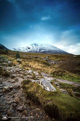 The Reek - Croagh Patrick. (adrianmoorephotography) Tags: clewbay hiking connaught reek snowcapped croagh mountain patrick ireland mayo photography scenery landscape grass hill terrain westport nature green wild