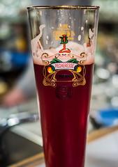Glass of Lindermans Pecheresse (Peach) Lambic Fruit Beer (t'Brugs Beertje Bar) Bruges (Olympus OMD EM5II & Panasonic Lumix 20mm f1.7 Pancake Prime) (1 of 1) (markdbaynham) Tags: fruitbeer beer ale belgium bruges brugge bruggen tbrugs beertje bar pub drink panasonic lumix 20mm f17 panacake prime olympus omd em5 em5ii csc evil mirrorless mft m43 m43rd micro43 micro43rd lindermans pecheresse fruit peach