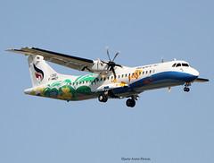 Bangkok Airways (Jacques PANAS) Tags: bangkok airways atr 72600 72212a hspzj fwwef msn1392