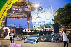 琪璋♥婉貞©jLan (154) (tureloveisme) Tags: 義山宮 樂隊 舞台 新娘秘書 新秘 婚禮攝影 婚攝 天鵝 氣球布置