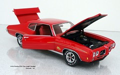 "1970 Pontiac GTO ""The Judge"" Hardtop (JCarnutz) Tags: 124scale diecast gmp 1970 pontiac gto thejudge"
