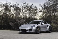 GT3RS. (Gal cho photography) Tags: porsche gt3 gt3rs rs 991 track rare expensive supercar super car cars supercars love gray silver sunset israel amazing exotic street special gal cho chobotaro photograph photo photography photographer canon 650d 50mm german