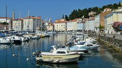 Il porto di Pirano, in Slovenia (Valerio_D) Tags: piran pirano slovenia slovenija 2016estate 1001nights 1001nightsmagiccity