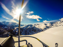 Zell am Ziller feb-2017 (jaaphesselink) Tags: zell am ziller zillertall austria winter chairlift panoramaview skiing