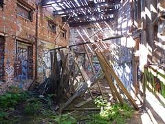 sgs21 (daily observer) Tags: abandonedtrainstation graffiti urbanruins philadelphia abandoned abandonedphiladelphia philadelphiagraffiti