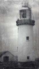 A lighthouse in Ireland run through the photo app Stackables (elizabatz.jensen) Tags: ireland photoapp irish lighthouse stackables