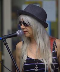 She Rocks (swong95765) Tags: woman rock singer music mic platinum shades