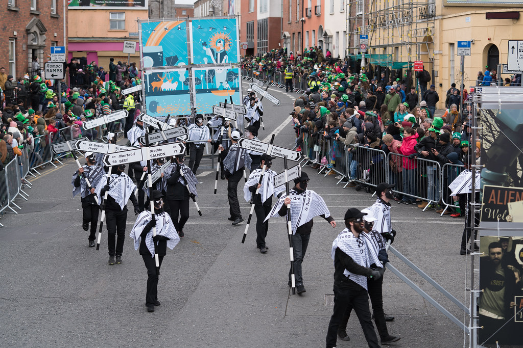 DUBLIN INSTITUTE OF TECHNOLOGY [PATRICKS DAY PARADE IN DUBLIN 2017]-126065