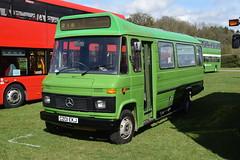 C201 EKJ (markkirk85) Tags: south east bus festival buses mercedes benz l608d rootes maidstone district new 21986 1001 c201 ekj c201ekj