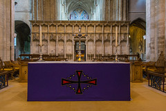 Christchurch Priory - High Altar (Le Monde1) Tags: christchurch dorset priory castle lemonde1 nikon d800e england county uk christchurchpriory jesse reredos screen highaltar