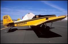 N5558X - Phoenix Mesa Falcon Field (FFZ) 20.04.2003 (Jakob_DK) Tags: 2003 ffz kffz mesafalconfield phoenixmesafalconfield ayres ayress2 thrushcommander s2r600 marshaviation