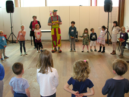 Kinderpret met clown Tyno © Antheunis Jacqueline