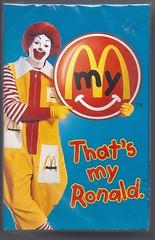 McDonald's That's My Ronald Cassette Tape (hytam2) Tags: mcdonalds cassette tapes thatsmyronald
