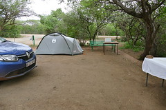 New Camping Site ... (berniedup) Tags: lowersabie kruger tent camping campsite
