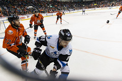 "Missouri Mavericks vs. Wichita Thunder, March 25, 2017, Silverstein Eye Centers Arena, Independence, Missouri.  Photo: © John Howe / Howe Creative Photography, all rights reserved 2017. • <a style=""font-size:0.8em;"" href=""http://www.flickr.com/photos/134016632@N02/33544448362/"" target=""_blank"">View on Flickr</a>"
