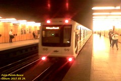 81-717.2K Budapest, Pöttyös utca, 2017. 03. 29. (petrsbence) Tags: bkv bkk metró vasút subway ubahn 817172k m3 3asmetró budapest hungary railways trains