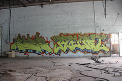 Goze, Ment (NJphotograffer) Tags: graffiti graff new jersey nj abandoned building urban explore goze ment feb crew