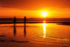 Child's Play (Beth Wode Photography) Tags: sunset sundown silhouette childsplay childrensilhouettes goldensunset reflections lowtide orangesunset wellingtonpoint redlands beth wode bethwode