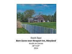 "Barn Scene near Newport Inn, Maryland • <a style=""font-size:0.8em;"" href=""https://www.flickr.com/photos/124378531@N04/33757246945/"" target=""_blank"">View on Flickr</a>"