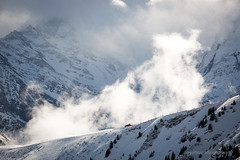 The new cloud is coming (ignacy50.pl) Tags: mountains mountain highmountains clouds sky ski snow light sunlight winter france alps canon artphotography landscape winterlandscape ignacy50