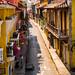 2014 - Cartagena Columbia - Walled City Street