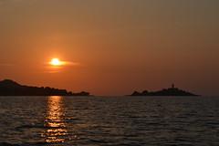 illa d'Alcanada (damdam79) Tags: sunset sea summer lighthouse faro mar agua mediterraneo playa verano mallorca far alcudia alcanada