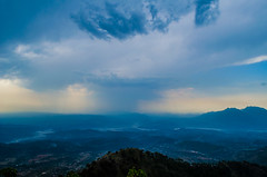 Mind blowing! Breathtaking! (sandeshrawat) Tags: eve mountain nature rain photography landscapes ps mata coulds breathtaking edit lr coolpics mindblowing vaishnodevi skryporn
